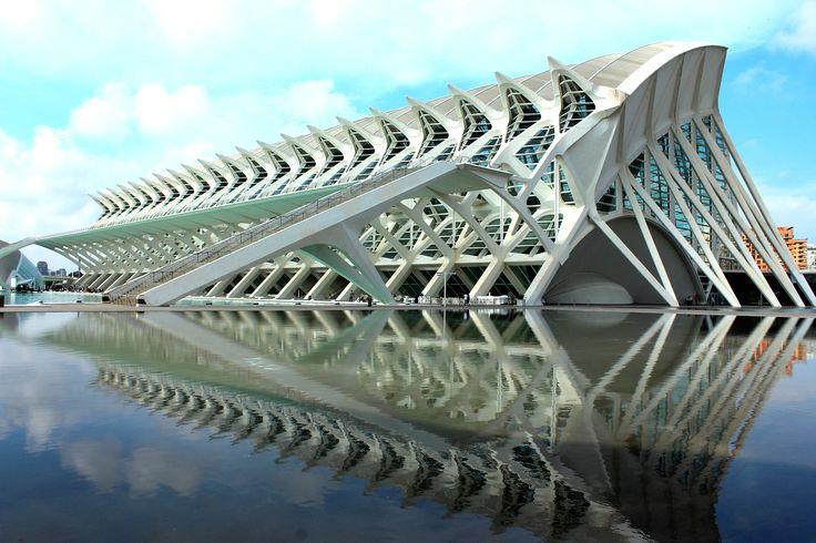 Ciudad de las Artes y de las Ciencias, Stadt der Künste und der Wissenschaft, Valencia, Spain