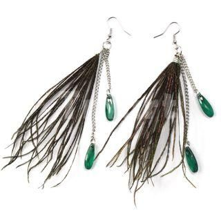 Peacock Feather Meaning   Feather Earrings 300x300 Peacock Feather Earrings What They Might Mean ...