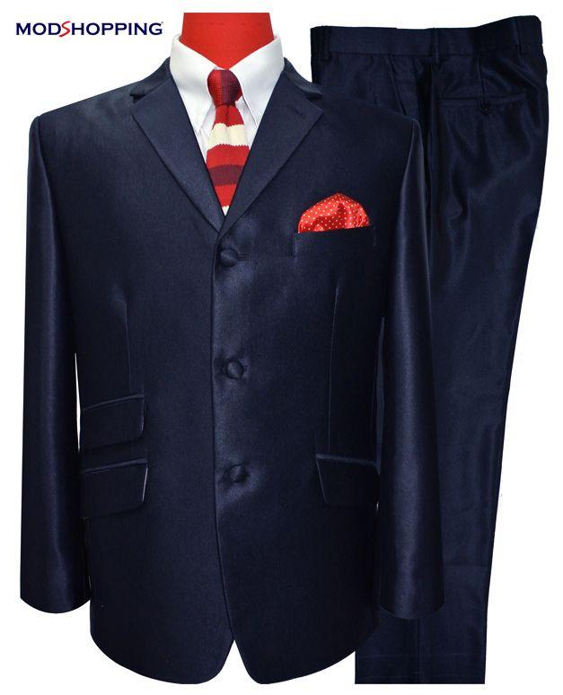 Modshopping - DARK NAVY BLUE 60'S TONIC SUIT, £229.00 (http://www.modshopping.com/dark-navy-blue-60s-tonic-suit/)