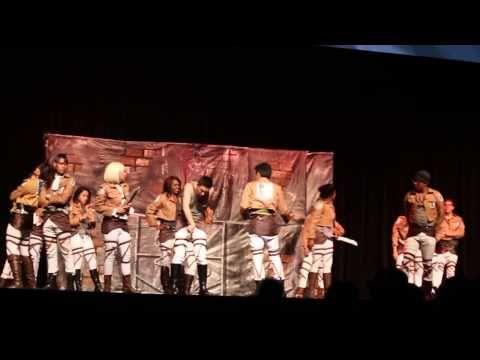 The Survey Corps @ Anime Expo 2014 - YouTube