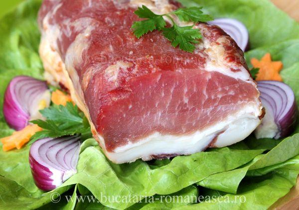 Muschi de porc afumat