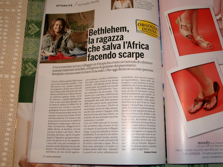 DONNA MODERNA []ITALIAN WOMENS MAGAZINE[] features soleRebels!: Moderna Magazines, Magazines Limoni, Woman Magazines, Features Solerebel, Magazine Limoni