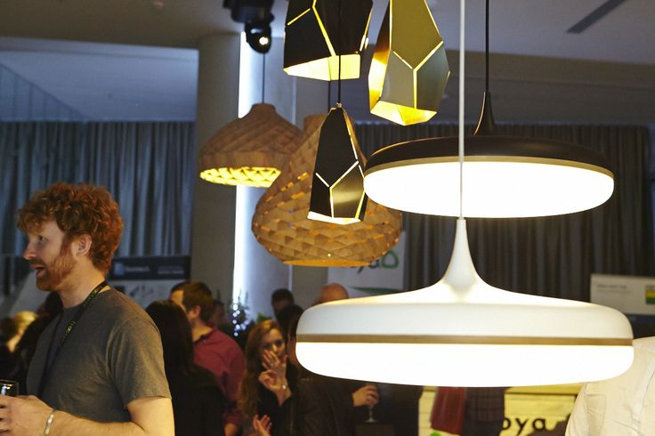 Zaffero Lighting showcasing at The Arc Networking Melbourne Event. They added a touch of beauty and elegance with their unique pendant lights.
