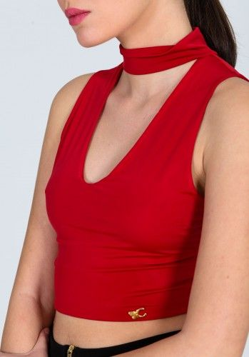 Κροπ τοπ τσόκερ για σουπερ stylish εμφανίσεις. Φόρεσε το με ψηλόμεσο παντελόνι ή φούστα και ξεχώρισε. 15.00€    Μεγέθη : Large / Medium  Χρώμα : Κόκκινο, Μάυρο