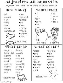 Understanding adjectives will help students become more proficient with their grammar skills. These engaging activities will enable students to practice identifying adjectives in a meaningful way.
