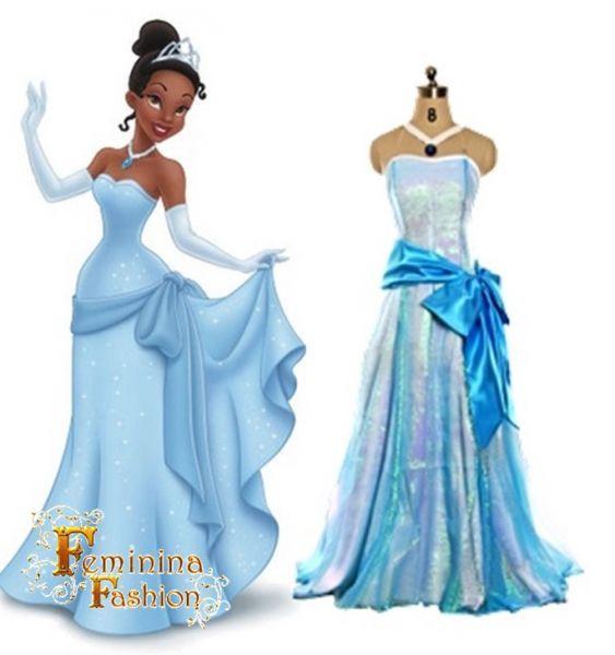Princesa Tiana Luxo - A Princesa e o Sapo FF2303