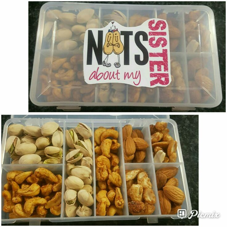 Nutty gift for sister