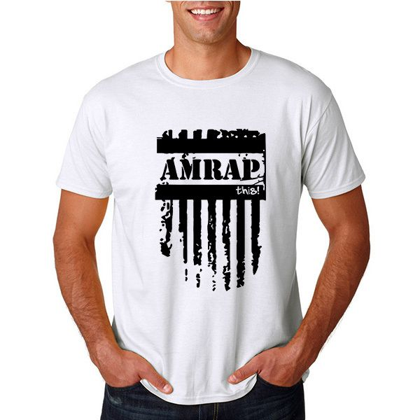 Summer  Amrap This T-shirt Man Summer Crewneck  Gear Bodybuilding  T Shirts TShirt Men     Tag a friend who would love this!     FREE Shipping Worldwide     Buy one here---> http://www.wodcasual.com/summer-amrap-this-crossfit-t-shirt-man-summer-crewneck-gear-bodybuilding-t-shirts-tshirt-men/