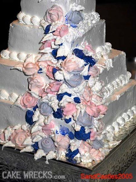 """Cake Wrecks- where professional cakes go horribly wrong. This site is hilarious! If you need a good laugh, or even a """"wtf"""" moment, check this place out!"""