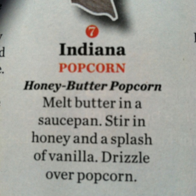 An interesting way to flavor popcorn that has been made in a hot air corn popper or pan popped. Unflavored microwave would work as well.