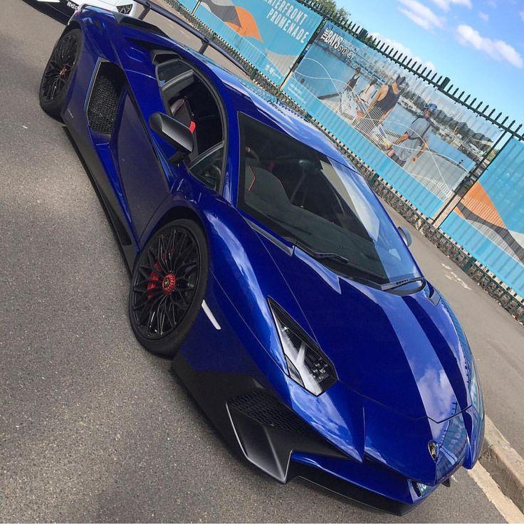 Lamborghini Aventador Super Veloce Coupe Painted In Blu Sideris Photo Taken  By: @autogespot_australia On