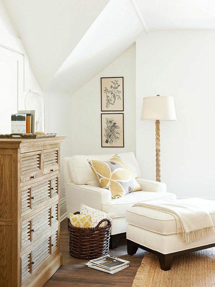 méridienne convertible blanc, design moderne, canapé bz ikea,