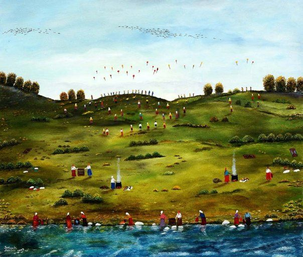 Selçuk Şahin Yağlıboya Resim / Original Painting