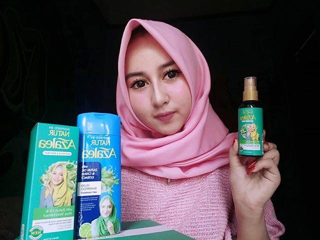 Assalamualaikum Sahabat Hijab Aku Seneng Bgt Dapet Kiriman Shampoo Azalea Anti Dandruff Dan Hair Mist Dari Azaleabeautyhijab Hijab Fashion