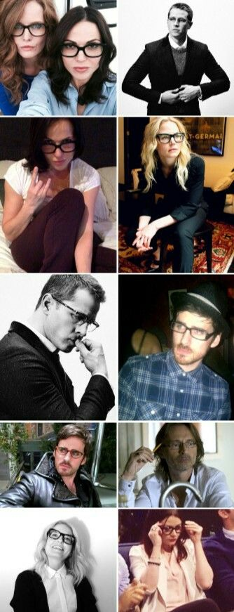 OUAT cast + glasses porn