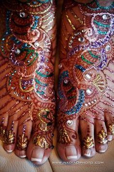 Rainbow Henna -WOW!