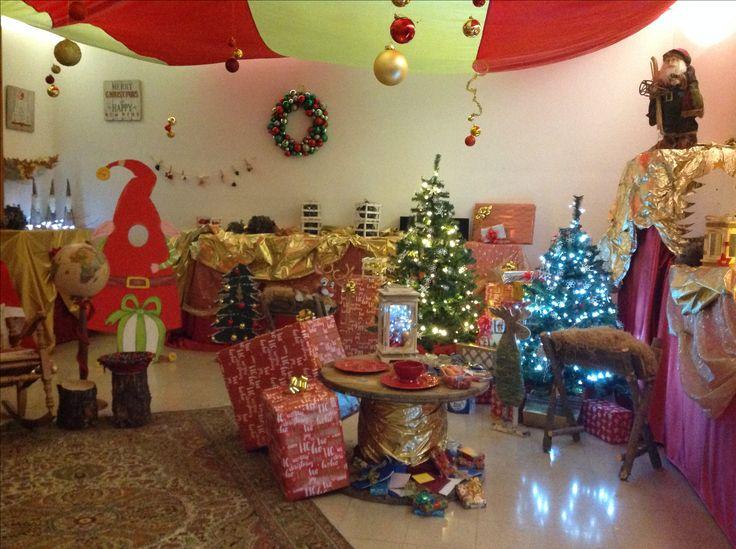 La stanza di Babbo Natale 2017 alla Scuola Primaria Suor Luisa Martelli