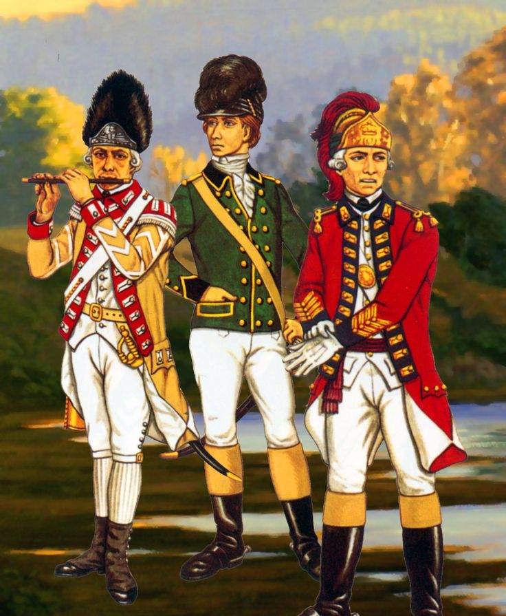 British Legion with King's American Dragoons