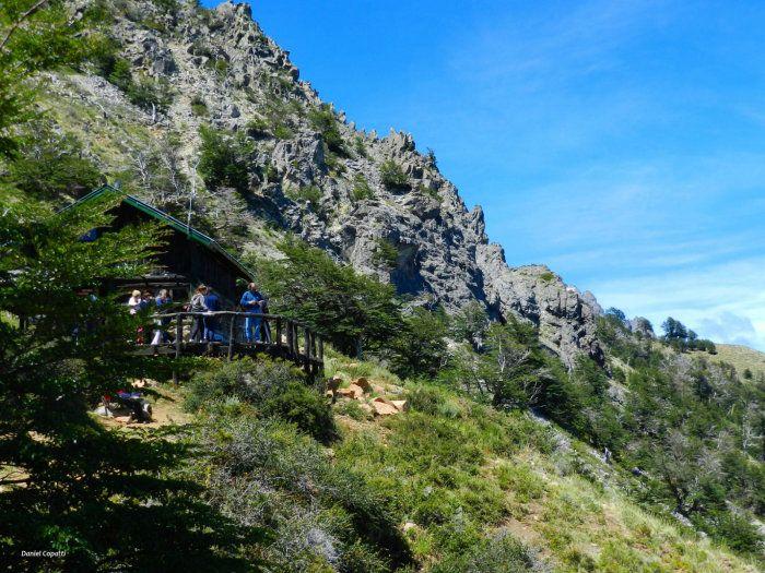 El Refugio colgado de la montaña - El Bolsón, Argentina