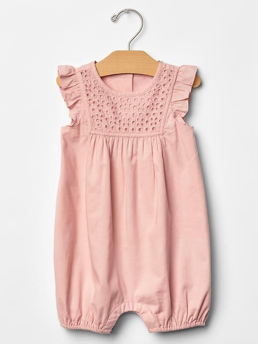 Eyelet flutter one-piece Product Image