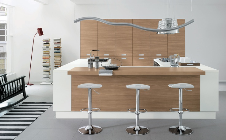 04 Contemporary kitchen VENUS by Zecchinon | Archisesto Chicago |