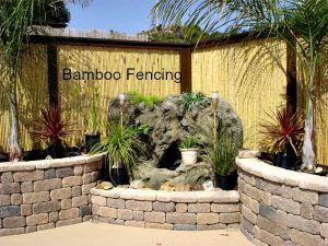 when buying bamboo fencing rolls some people prefer to purchase in large bulk to make a statement with island decor