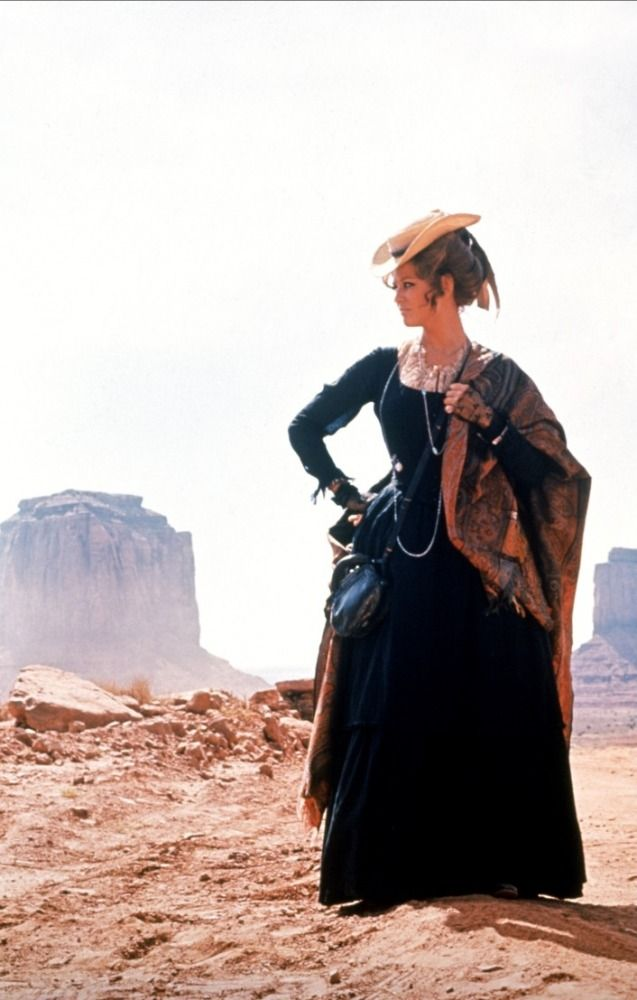 """Claudia Cardinale in """"Once upon a Time in the West"""""""