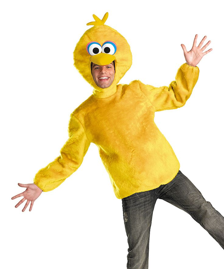 Big Bird Costume Set - Men's Regular