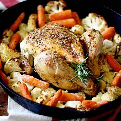 A classic! Herbs de Provence Roasted Chicken