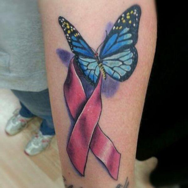 cancer tattoo | Inspiring Colon Cancer Tattoos Design: Cancer Ribbon Tattoos
