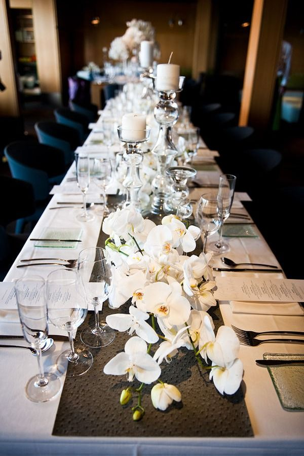 Best long table decorations ideas on pinterest
