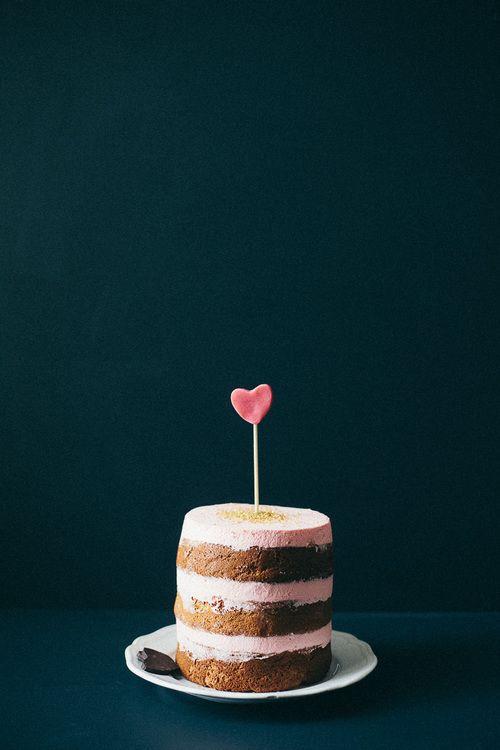 valentine cake.