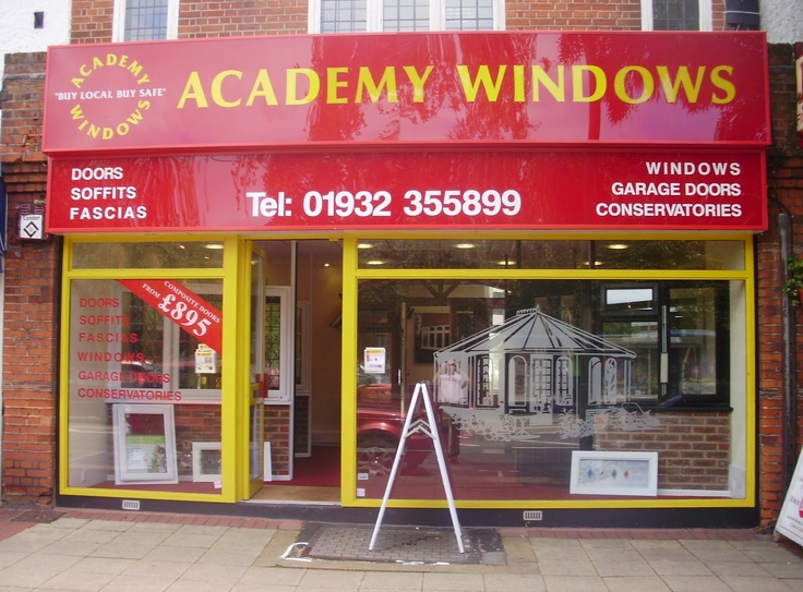 Academy Windows West Byfleet showroom. Double Glazing Windows, Doors, Conservatories,Kitchens,Bedrooms  http://www.academywindows.co.uk/?page=WestByfleet http://www.academywindows.co.uk/?page=Showrooms