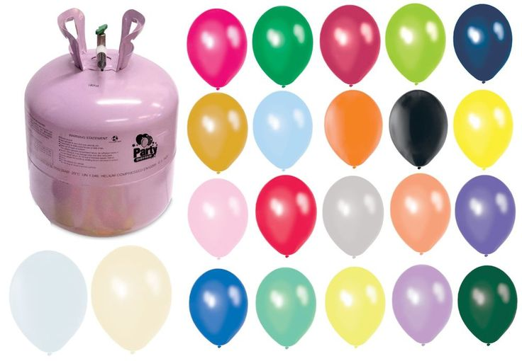 Wedding Balloons & Helium Gas Cylinder Make 12 Table Centrepiece Decorations PS