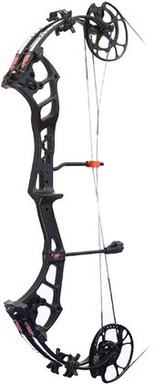 """PRECISION SHOOTING EQUIP 17 Brute Force Lite Bow Only Left Hand 29"""""""" 70# Black, EA"""
