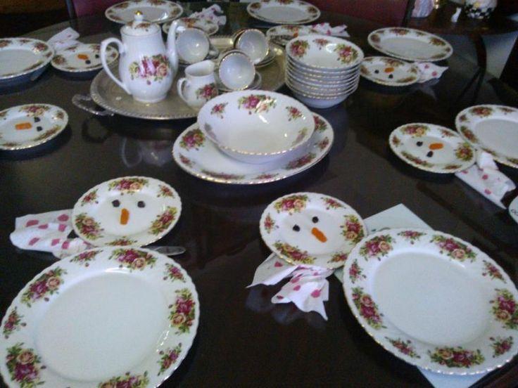 English Rose Dinner/tea Set | Bluff | Gumtree South Africa