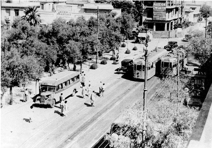1949, Πλατεία Αμερικής ή «πλατεία Ανθεστηρίων» ή «πλατεία Αγάμων».