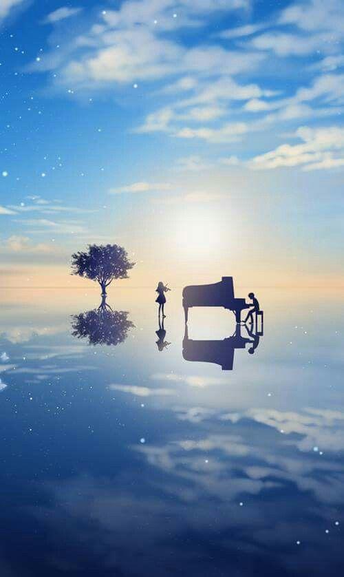 Shigatsu wa kimi no uso - tocando música entre el cielo y el mar un hermoso reencuentro