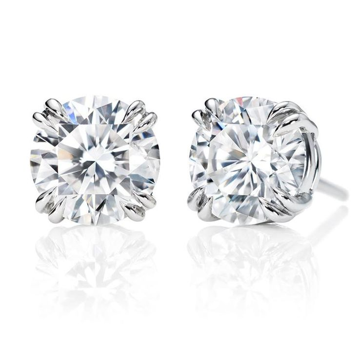 Droplets of joy, Round Brilliant Earstuds, http://www.harrywinston.com/store/jewels/earrings/products/round-brilliant-earstuds