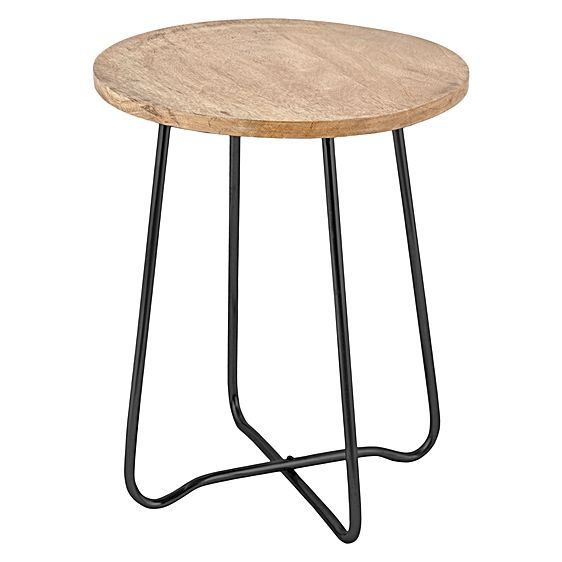 Jessica Black Side Table by j.elliot HOME