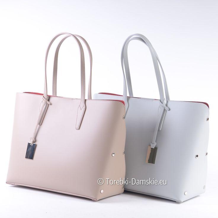 Najnowsze modele skórzanych torebek produkcji włoskiej w naszej kolekcji Zapraszamy! http://torebki-damskie.eu/22-skorzane