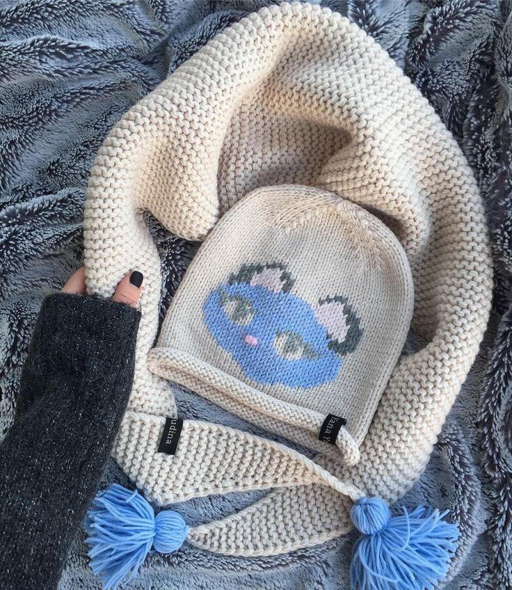 """2,307 Likes, 238 Comments - I L O V E K N I T T I N G  (@staryxo_knit) on Instagram: """"Мне так понравилась эта шапка, что решила не продавать и пополнить ею свою коллекцию  Снуд только…"""""""
