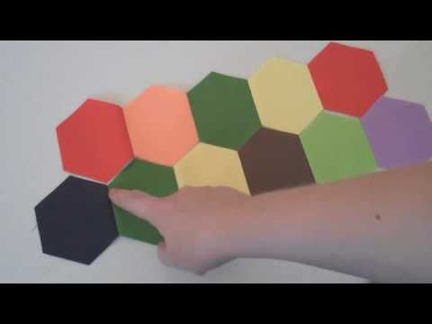 Video - Machine Piecing Hexagons    I'd never considered doing it this way. I wonder if leaving raw edges and sewing them together would be faster than whip-stitching seamed edges?