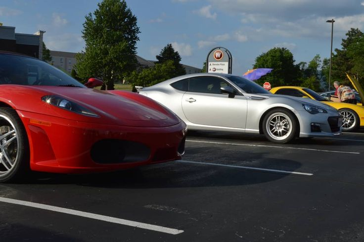 So uh.. that happened.. never had an exotic park near me so that was cool • … #ferrari