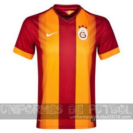 Jersey local para uniforme del Tailandia Galatasaray 2014-15 | uniformes de futbol economicos