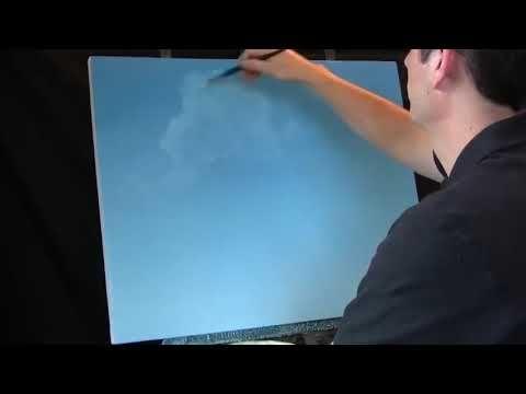 Yagli Boyayla Bulut Cizimi Nasil Yapilir Youtube Bulutlar Cizim Youtube