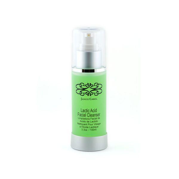 Lactic Acid Facial Cleanser – Janice Carol Cosmetics