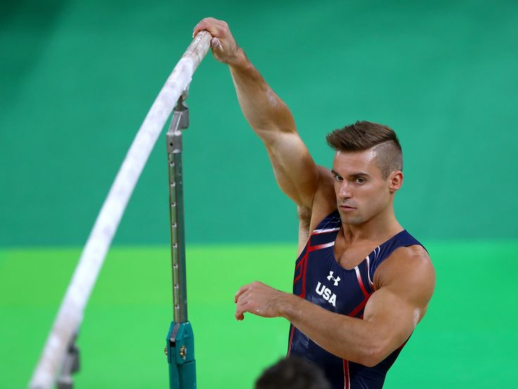 Sam Mikulak Photos - Olympics - Previews - Day -2 - Zimbio