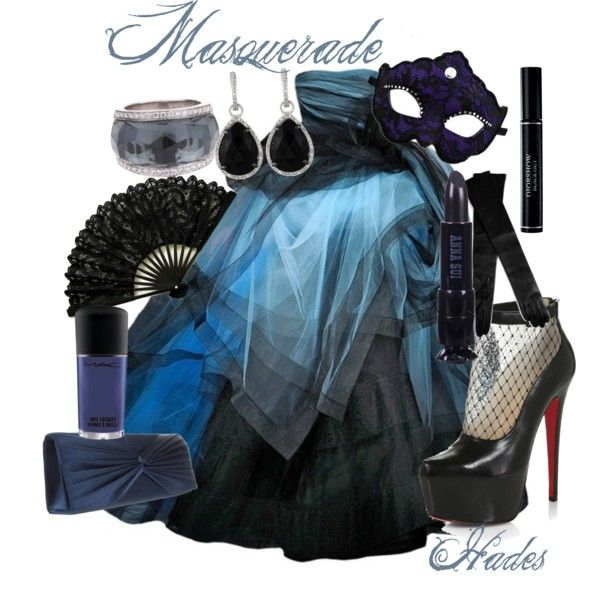 """Hades Masquerade"" by kmacleod on Polyvore"