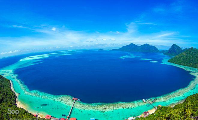 Beautiful but Less Popular Islands in Malaysia - Bohey Dulang Island, Semporna, Sabah